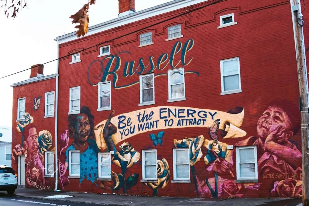 Be The Energy You Want To Attract Mural - Louisville Murals