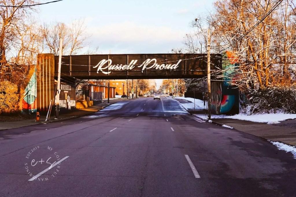 Russel Proud Underpass Mural - Louisville Murals