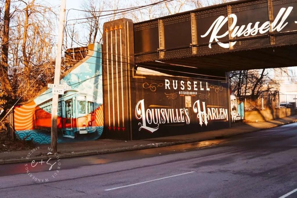 Louisvilles Harlem Mural - Louisville Murals