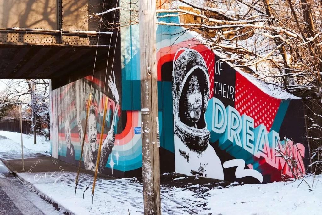 Of Their Dreams Mural - Louisville Murals