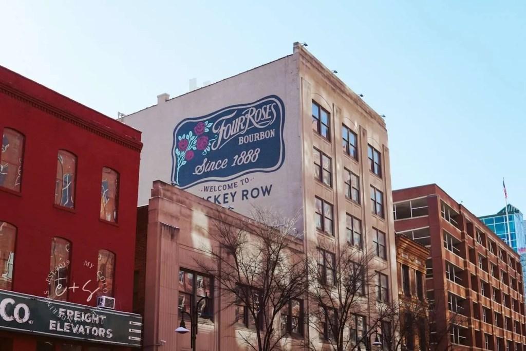 Four Roses Downtown Mural - Louisville Murals