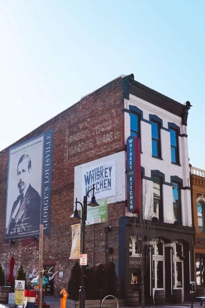 Merle's Whiskey Kitchen Mural - Louisville Murals