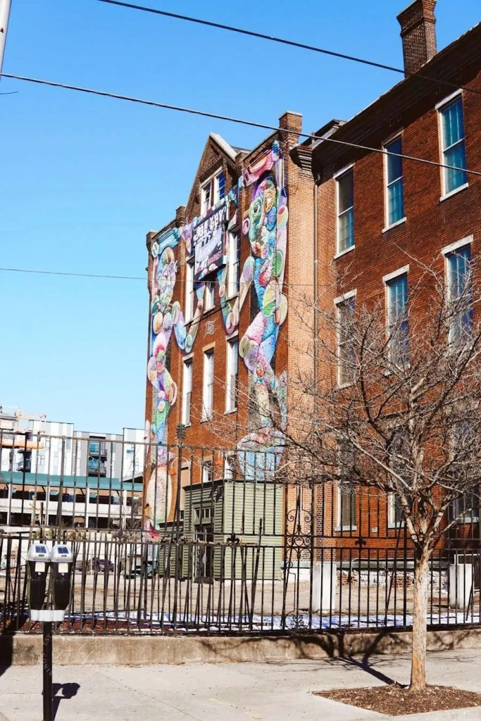 Jo Ley Antiques Mural - Louisville Murals