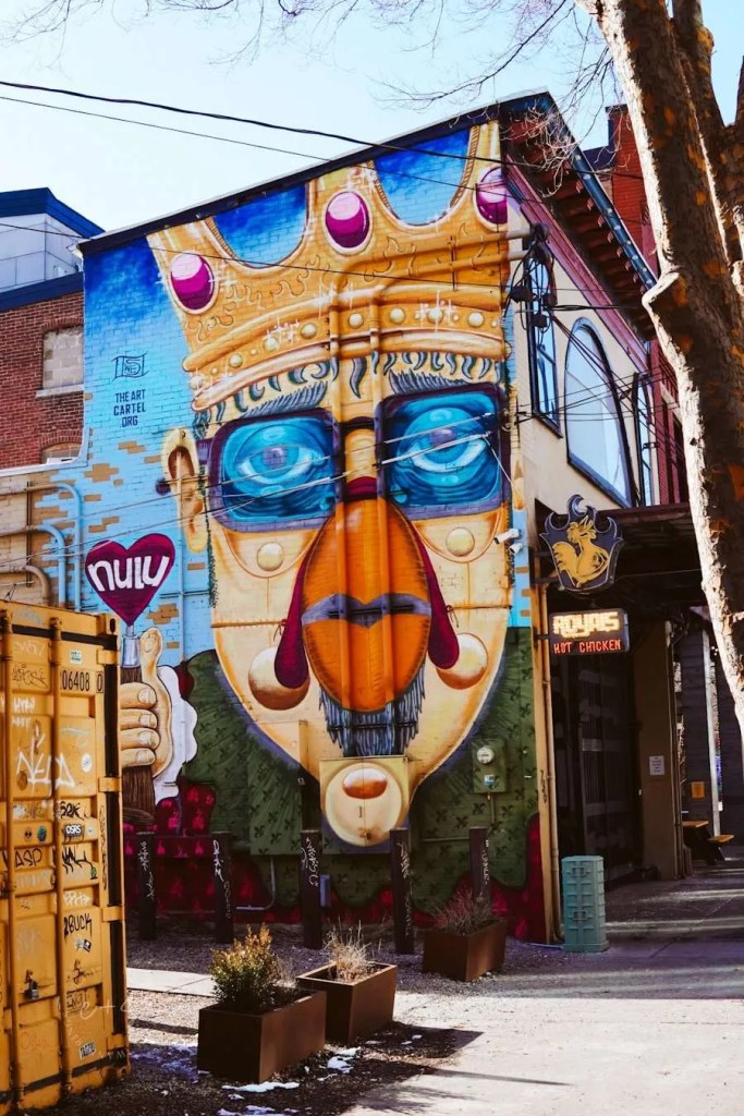 Royals Hot Chicken Nulu Mural - Louisville The Art Cartel Murals