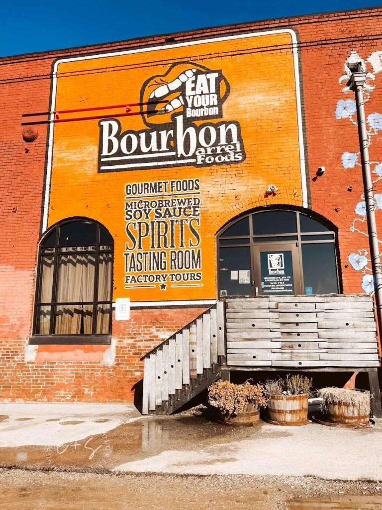 Eat Your Bourbon Mural - Louisville Murals