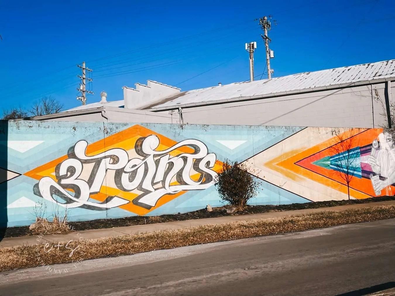 3 Points Mural Germantown - Louisville Murals