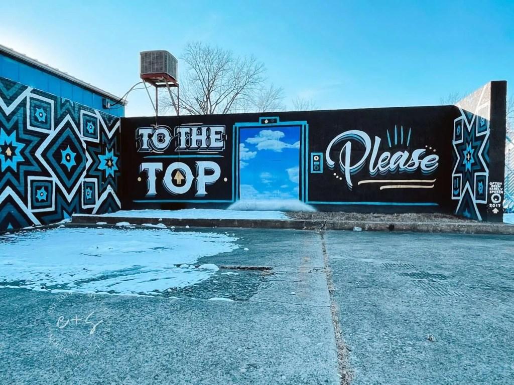 To the top louisville mural Louisville Kentucky murals often seen rarely spoken murals
