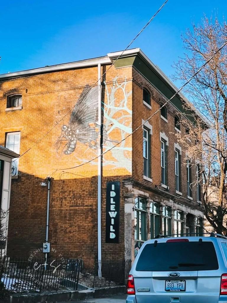 Idlewild Butterfly Mural - Louisville Murals