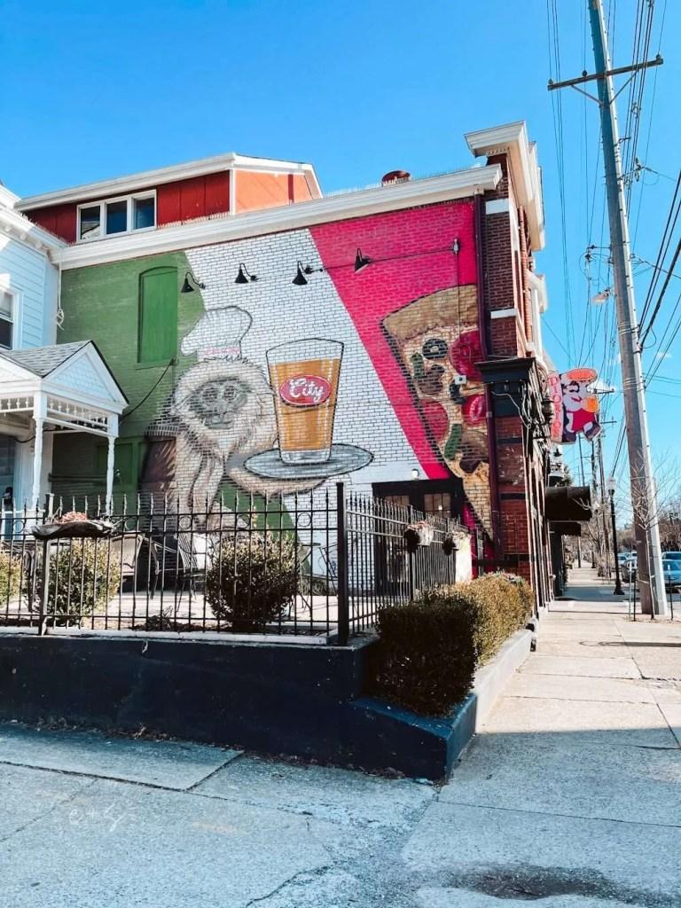 Diorios Beer Monkey Mural - Louisville kentucky Murals