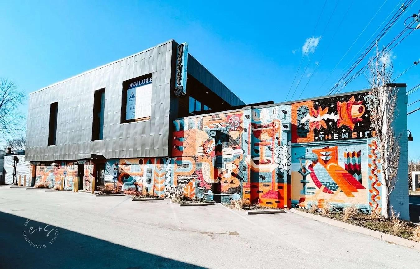 Hopcat louisville kentucky mural