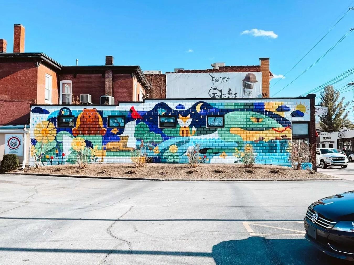 charmichaels kids louisville kentucky mural