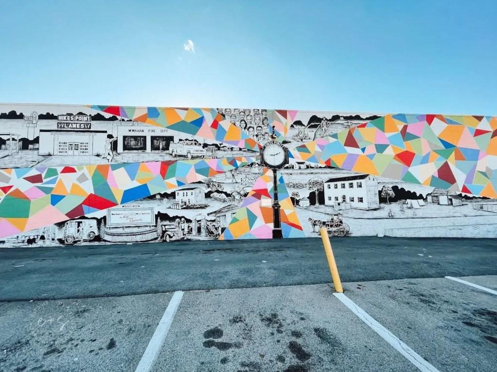 Big Lots Colorful Mural Louisville Murals
