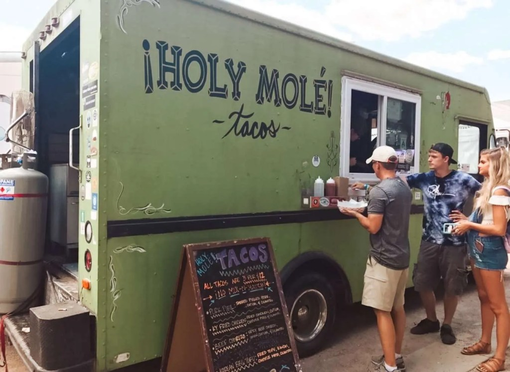 Holy Mole food truck Tacos - best Louisville tacos