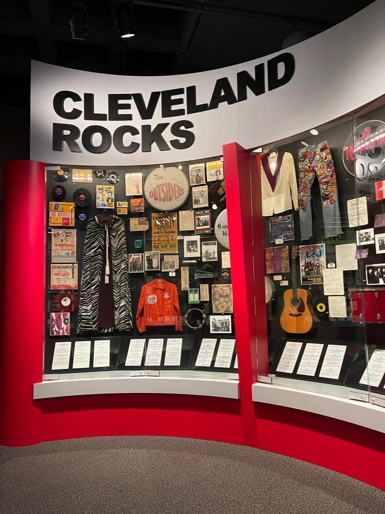 The Rock and Roll Hall of Fame Cleveland, Ohio - Machine Gun Kelly Cleveland ohio roadtrip