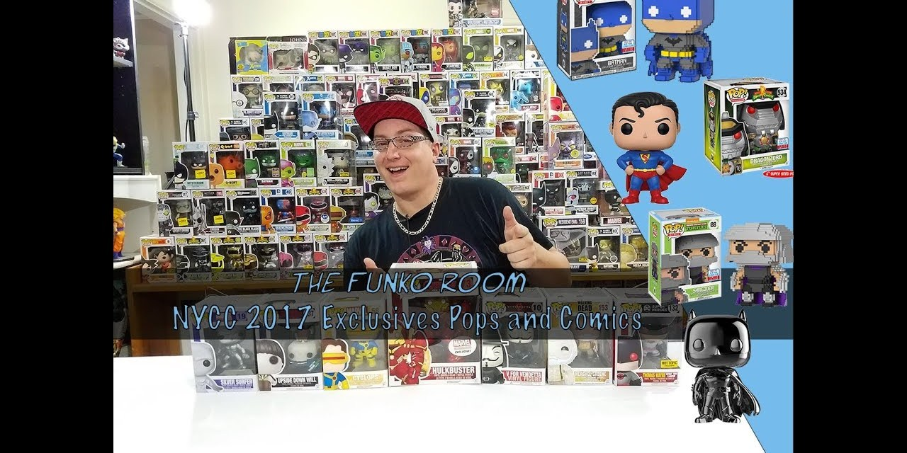 The Funko Room: NYCC 2017 Exclusives – Pops and Comics