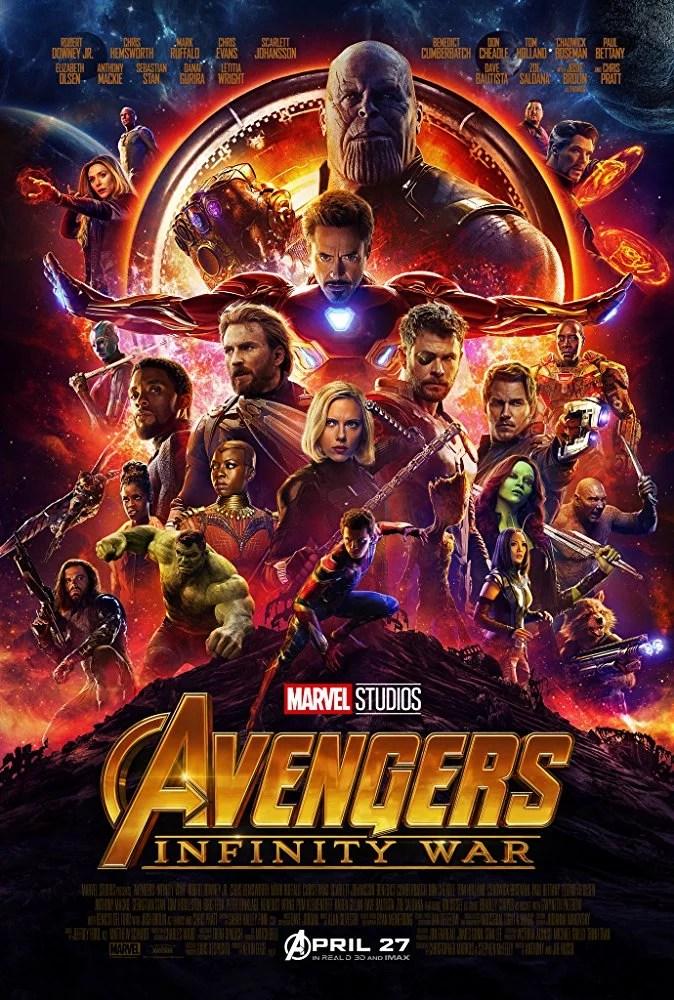 Marvel Avengers Infinity War Movie Poster 2018
