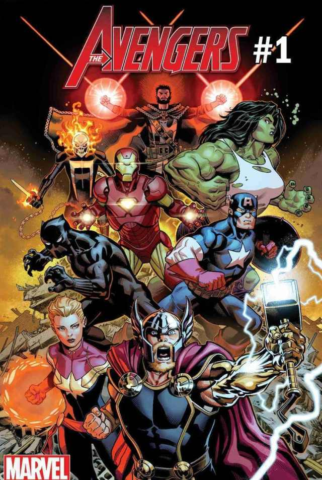 Marvel Fresh Start Avengers