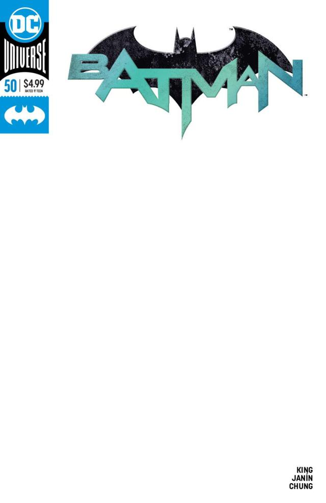 Batman #50 exclusive covers blank