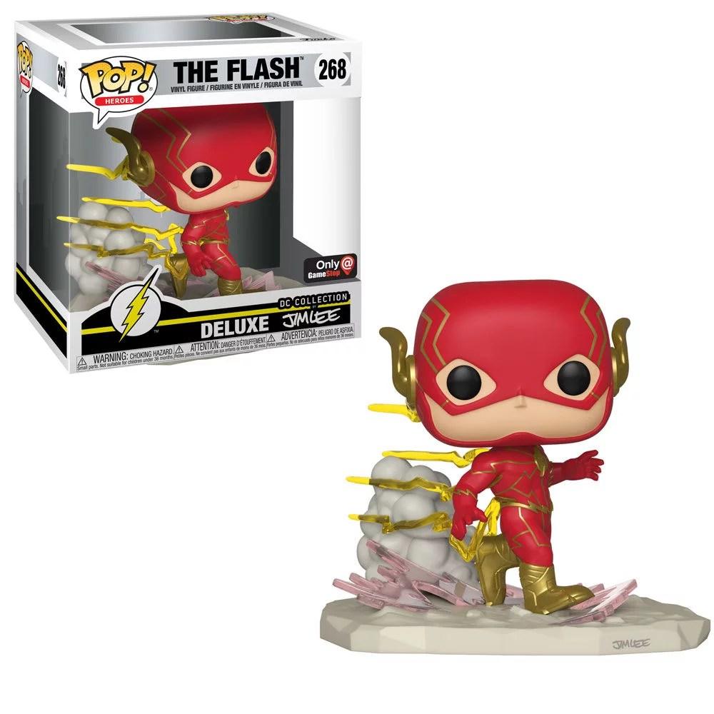 jim lee the flash funko pop gamestop exclusive comics comic books best comic books 2018 tv television movies collectibles funko pops