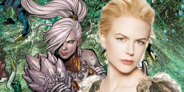 DCEU Aquaman queen atlanna