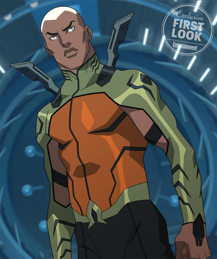 young justice outsiders aquaman kaldur aqualad
