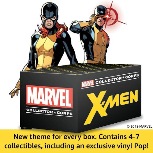 Marvel Collector Corps Unboxing X-Men