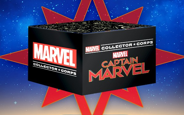 Marvel Collector Corps Funko Subscription Box | Captain Marvel Unboxing