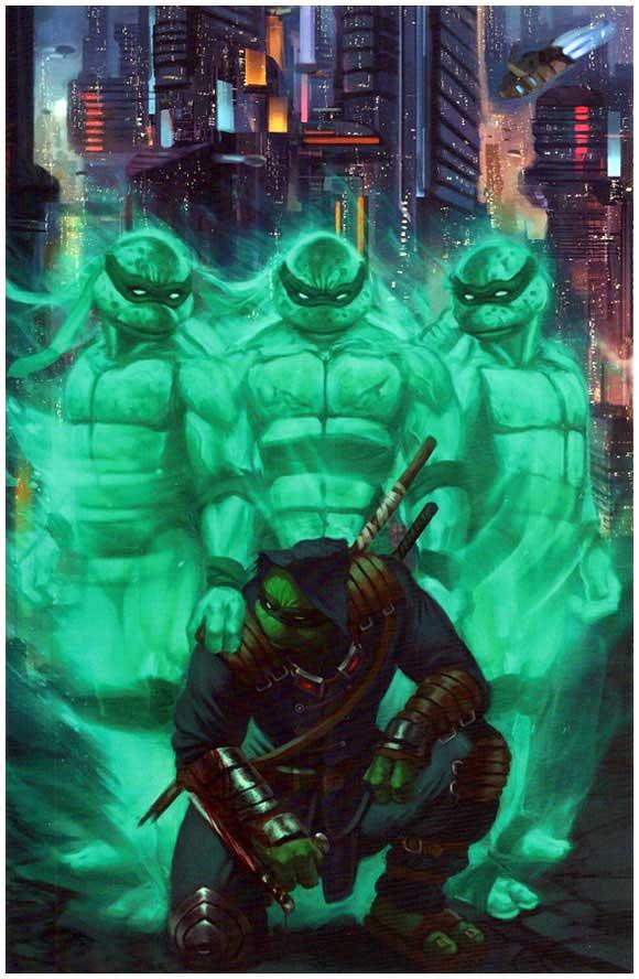 teenage mutant ninja turtles the last ronin aaron bartling cover linebreakers exclusive