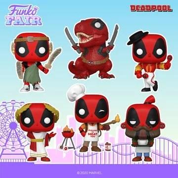 funko fair day 4 2021 marvel deadpool