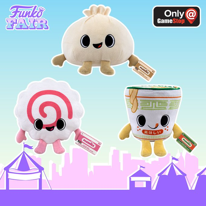 funko fair day 3 toy fair 2021 sports and games pop plush gamer food plushes gamestop exclusive