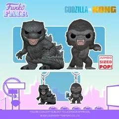 funko fair day 7 animation toy fair 2021 godzilla vs versus kong king jumbo sized pocket pop keychain