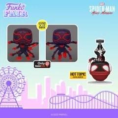 funko fair day 4 2021 marvel spider-man miles morales glow in the dark exclusive hot topic gamestop