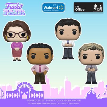 funko fair day 6 toy fair 2021 tv shows television the office oscar phyllis ryan blonde walmart exclusive pop