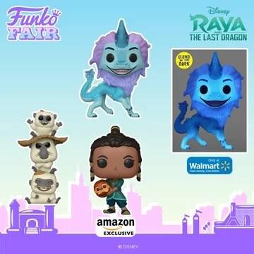 funko fair day 8 toy fair 2021 disney raya and the last dragon exclusive pop walmart amazon