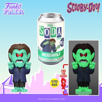 Funko Toy Fair Scooby Doo Werewolf Soda Chance of Glow in the Dark Chase Preorder