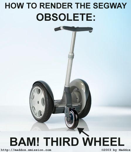 How to make the segway obsolete