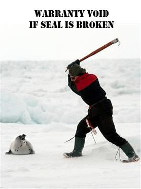 Warranty seal