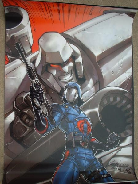 Cobra Commander and Megatron