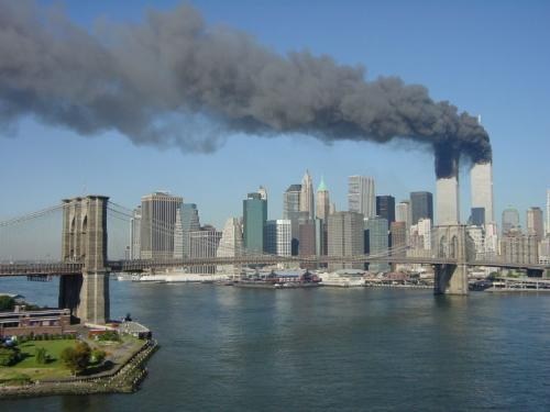 WTC And Brooklyn Bridge