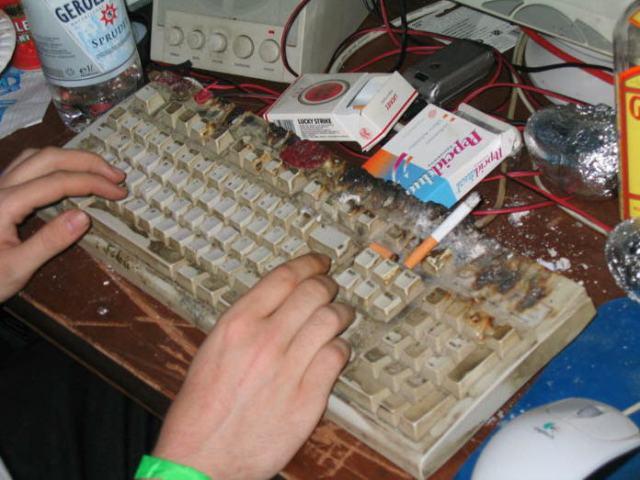 Smoker's Keyboard