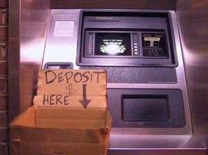 Deposit Money Here