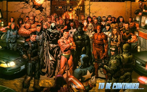 fantastic four and teh avengers - to be continued