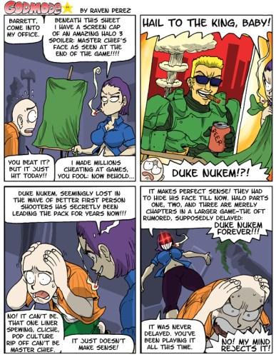 godmode - Halo is Duke Nukem