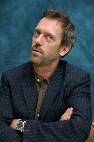 hugh laurie - pin stripe jacket