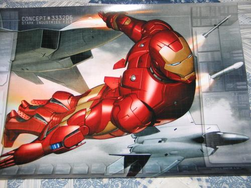 iron man - comic poster