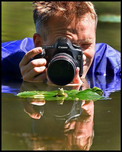 Frog Photographer
