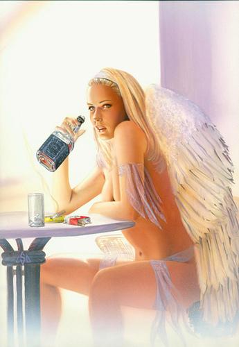 Hard Drinking Angel