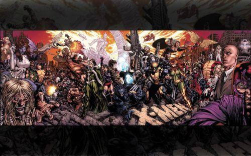 X-men Cover Panorama