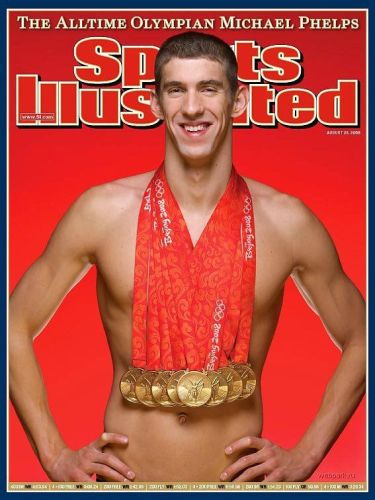 Phelps's Medals