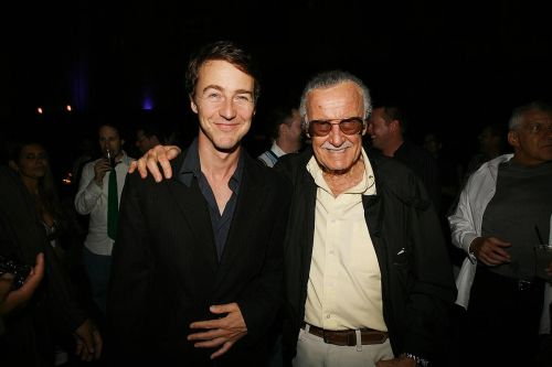 Norton and Stan Lee